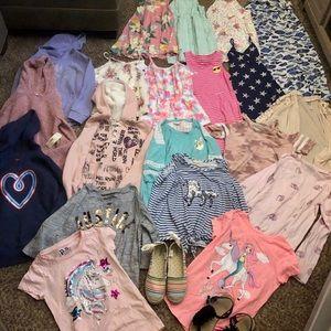 Big 10/12 girls clothes lot